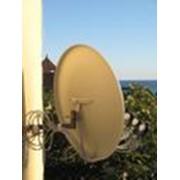Монтаж демонтаж спутниковых антенн фото