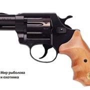 Револьвер ALFA 420, черный, деревянная рукоятка фото