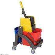 Тележка для влажной уборки Aquva 1х17 л, 1х6 л (Vermop) 0349 фото