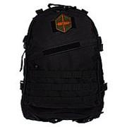 Рюкзак тактический RU 010 цв.черный тк.Оксфорд 45л фото