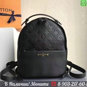 Рюкзак Louis Sorbonne Черный Vuitton Лв Луи Витон Lv фото