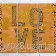 Модульна картина на полотні Кохання код КМ100200(200)-048 фото