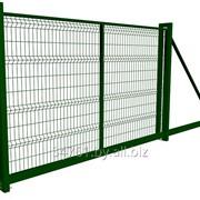 Ворота 3Д фото
