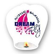 Небесный фонарик с Вашим логотипом фото