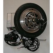 "Мотор-колесо 12"" 500Вт заднее для электрификации самоката или велосипеда фото"