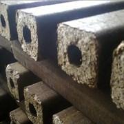 Топливный брикет с шелухи семечки. фото