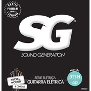 Sound Generation Струны SG 6667 для электрогитары Nickel Plated Steel HIbrid.011 фото