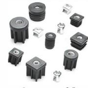Заглушки с резьбой, комплектующие для производства мебели фото