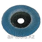 Круг шлифовальный ламельный 125мм, Convex P60 ZK, закругл Код:626463000 фото