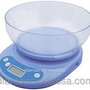 Весы кухонные с чашкой до 5 кг фото