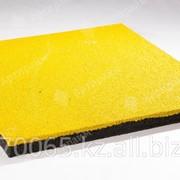 """Резиновая плитка """"Артпрайм"""" 500*500*16, Жёлтый фото"""
