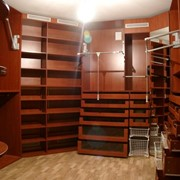Гардеробная комната на заказ фото