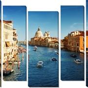 Модульная картина Венеция , Неизвестен фото