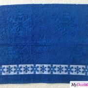 Полотенце махровое Снегопад (ПТХ-3601-02839 1сорт цв. 415, 50х80, Бежевый) фото