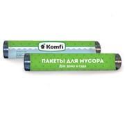 Пакеты для мусора 120 л. 70*110, 10 шт. Komfi, для дома и сада РФ фото