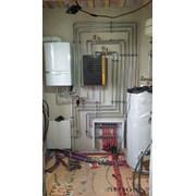 Монтаж систем отопления в частных домах фото