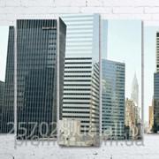 Модульна картина на полотні Нью-Йорк код КМ100150(132)-010 фото