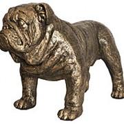 Скульптура Собака Сэр Винстон 67х43х31см. арт.77067 Б Bogacho фото