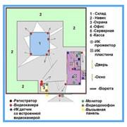 Пример построения системы охранного телевидения с возможностью удаленного доступа (16 видеокамер.) фото