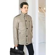 Куртка демисезонная средней длины Casual Модель 1601 фото