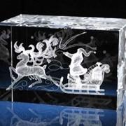 Изготовление кристаллов с лого фото текстом фото