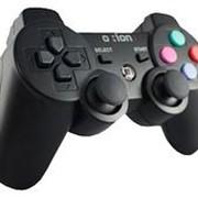 Джойстик OXION OGPW05BK PS3 Беспроводной Чёрный фото