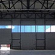 Ворота промышленные секционные DoorHan фото