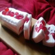 Мыльный ягодный чиз-кейк фото