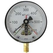 Манометр электроконтактный, мановакуумметр, вакуумметр МТ-4С фото