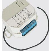 Радиоприемник двухканальный во встраиваемом корпусе памятью на 1000 Radio 8117 UPM-1000 фото