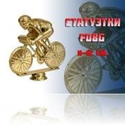 Фигурка пластиковая F08G, велоспорт, м. фото