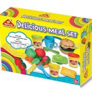Пластилин-тесто Happy Dough Delicious meal set фото