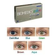 Цветные контактные линзы Biomedics Colors Premium фото