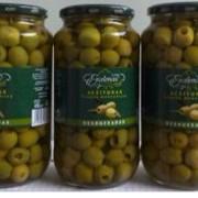 Оливки зеленые без косточки. EXCELENCIA фото