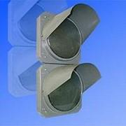 Noname Светофор индустриальный двухсекционный вертикальный 300 мм красный, зеленый (не стандарт) арт. СцП23400 фото