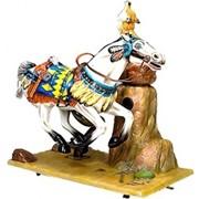 Детский игровой аттракцион Качалка Лошадь фото