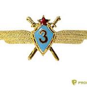 Знак металлический Классность ВВС СССР 3кл горячая эмаль Общ-5-25 фото
