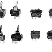 Тумблеры, выключатели, переключатели Arcolectric, Carlo Gavazzi (Италия) и др. фото