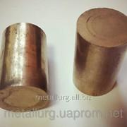 Круг бронзографитовый диаметром 22 мм х 35 мм фото