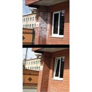 Гидрофобизация изделий и фасада, повышение стойкости камня фото