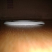 Розетка плоская белая боковая для оросителя фото
