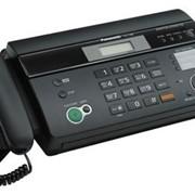 KX-FT988CA-B Panasonic факсимильный аппарат на термобумаге, Чёрный фото