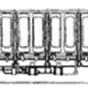 Перевозки грузовые 6-осным цельнометаллическим полувагоном фото