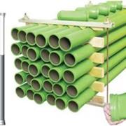 Стандартный комплект Бетоновода на 300 метров для стационарного бетононасоса CIFA фото