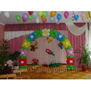 Детский сад.Выпускной.Оформление воздушными шарами. фото