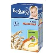 Каша сухая быстрорастворимая для детского питания с молоком с рисовой мукой фото