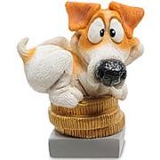 """Статуэтки Собака Джек-Рассел """"Поймай удачу"""" (W.Stratford) арт.RV-911 фото"""