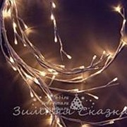 "Ветка - лиана ""Ледяная Ива"", 150см, 144 LED ламп, теплый белый (Kaemingk) фото"
