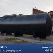 Резервуар стальной трехсекционный под заказ фото