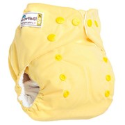Многоразовый подгузник Нежно-желтый фото